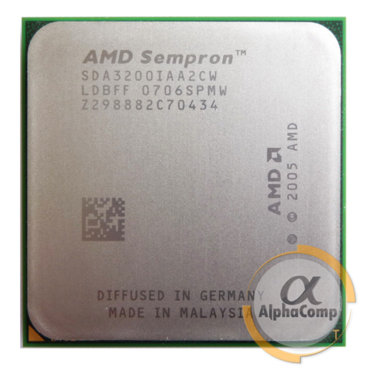 Процессор AMD Sempron 3200+ (1×1.8GHz/128Kb/AM2) БУ
