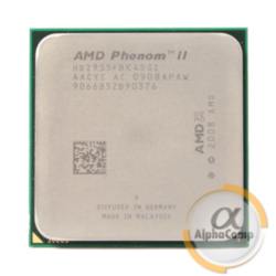 Процессор AMD Phenom II X4 955 (4×3.20GHz/2Mb/AM3) Black Edition 125W б/у