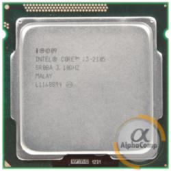 Процессор Intel Core i3 2105 (2×3.10GHz/3Mb/s1155) б/у