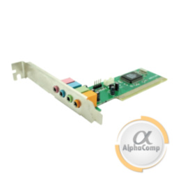 Звуковая карта PCI Manli C-Media M-CME8738-4CH (4 канала) БУ