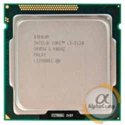 Процессор Intel Core i3 2130 (2×3.40GHz/3Mb/s1155) б/у