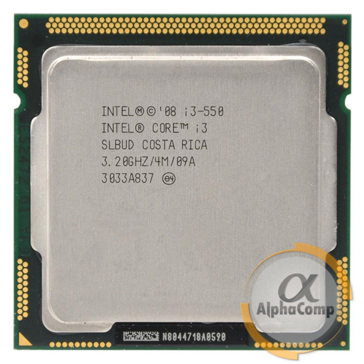 Процессор Intel Core i3 550 (2×3.20GHz/4Mb/s1156) БУ