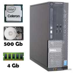 Компьютер Dell 3020 (Celeron G1820/4Gb/500Gb) desktop БУ