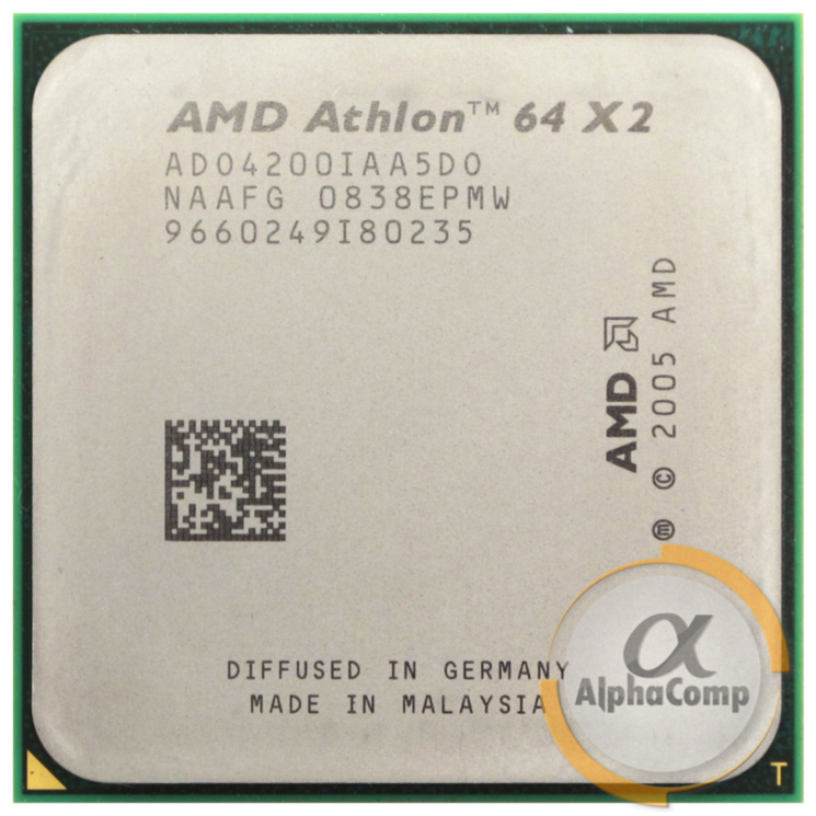 Процессор AMD Athlon 64 X2 4200+ (2×2.20GHz/1Mb/AM2) БУ