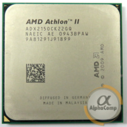 Процессор AMD Athlon II X2 215 (2×2.70GHz/1Mb/AM3) б/у