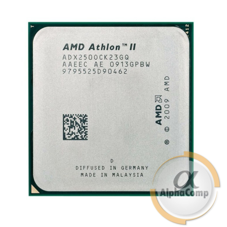 Процессор AMD Athlon II X2 250 (2×3.00GHz/2Mb/AM3) б/у