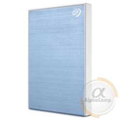 "Внешний HDD 2.5"" Seagate Backup Plus Slim Light Blue (STHN1000402)"