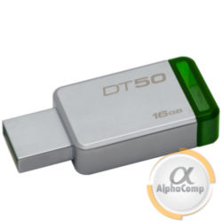 USB Flash 16Gb Kingston DataTraveler 50 USB3.0 (DT50/16GB) Metal/Green
