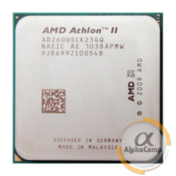 Процессор AMD Athlon II X2 260 B26 (2×3.20GHz/2Mb/AM3) БУ
