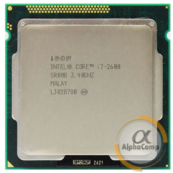 Процессор Intel Core i7 2600 (4×3.40GHz/8Mb/s1155) б/у