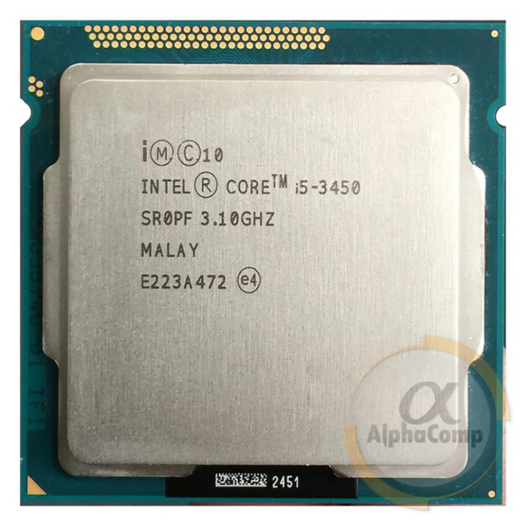 Процессор Intel Core i5 3450 (4×3.10GHz/6Mb/s1155) БУ