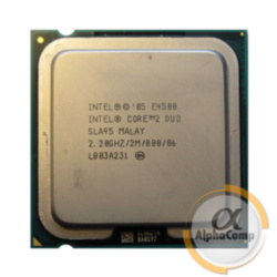 Процессор Intel Core2Duo E4500 (2×2.20GHz/2Mb/s775) БУ