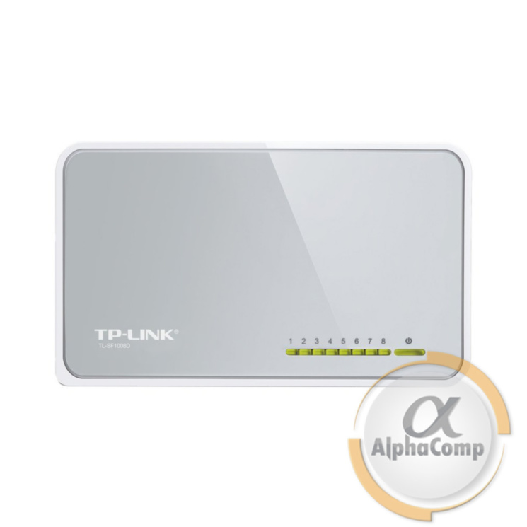 Коммутатор 8 port Tp-Link TL-SF1008D (настольный 5V)