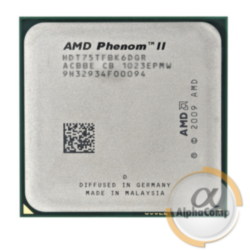 Процессор AMD Phenom II X6 1065T (6×2.90GHz/3Mb/AM3) б/у