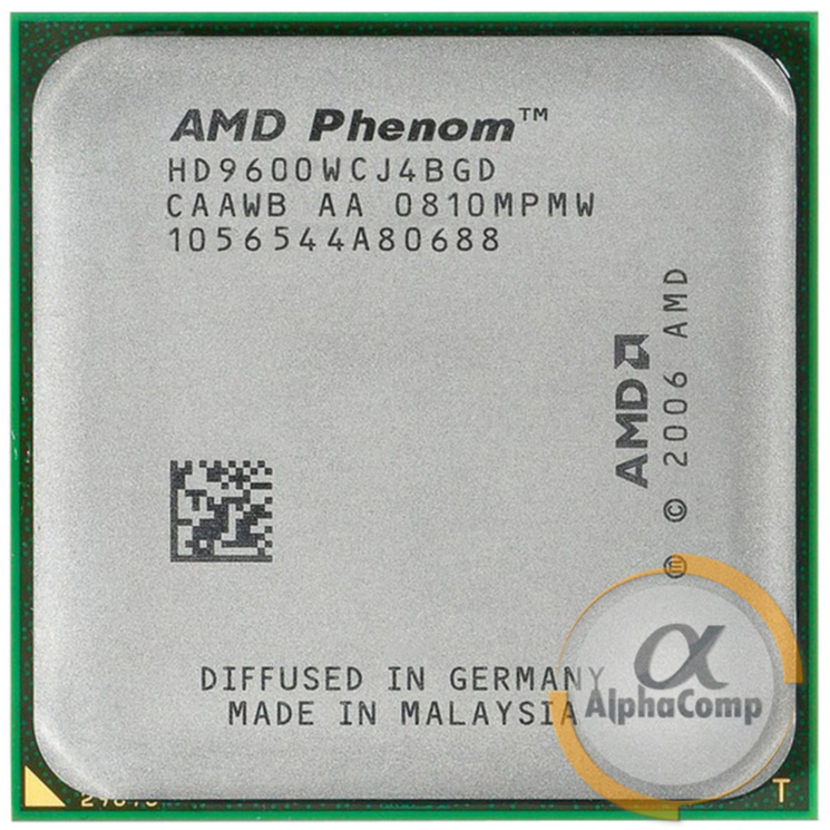 Процессор AMD Phenom X4 9600 (4×2.30GHz/2Mb/AM2+) БУ