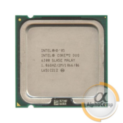 Процессор Intel Core2Duo E6300 (2×1.86GHz/2Mb/s775) БУ