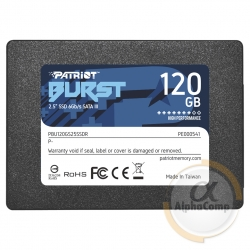"Накопитель SSD 2.5"" 120GB Patriot BURST PBE120GS25SSDR"