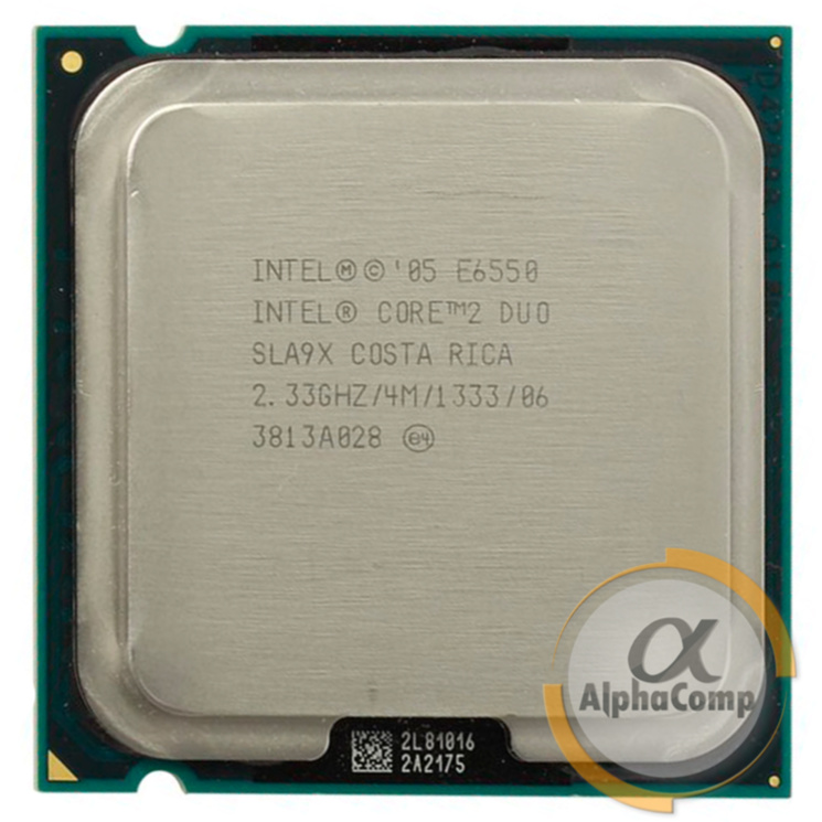 Процессор Intel Core2Duo E6550 (2×2.33GHz/4Mb/s775) БУ