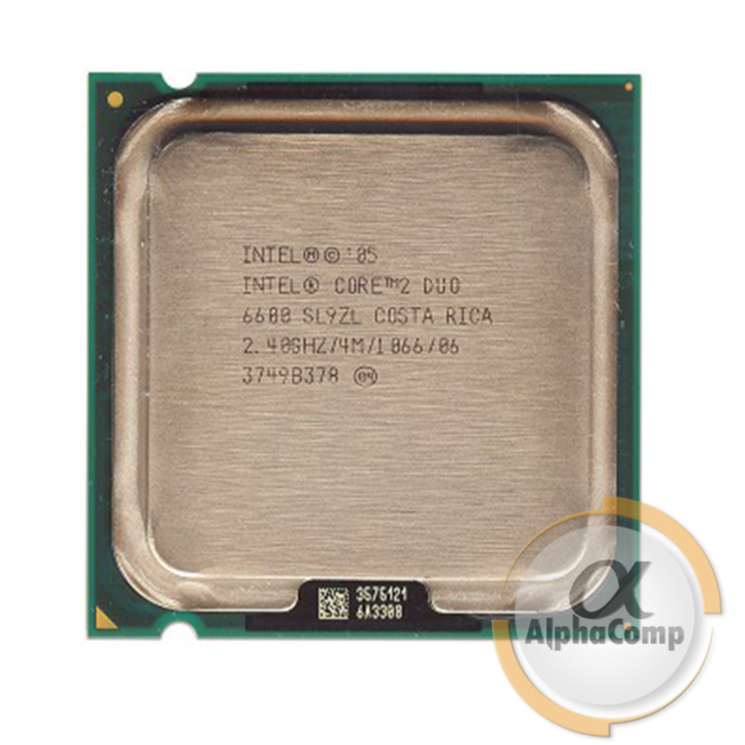 Процессор Intel Core2Duo E6600 (2×2.40GHz/4Mb/s775) БУ