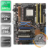 Материнская плата Asus M4A79 Deluxe (AM2+/AM3/AMD 750/4xDDR2) б/у