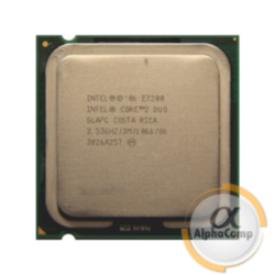 Процессор Intel Core2Duo E7200 (2×2.53GHz/3Mb/s775) БУ