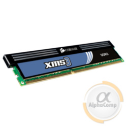 Модуль памяти DDR3 2Gb Corsair XMS3 CMX4GX3M2B1600C9 PC3-12800 1600 БУ