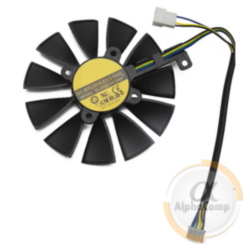 Кулер для видеокарты 87mm Asus PLD09210S12HH (2 * 4-pin•12V•0.40A)