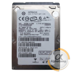 "Жесткий диск 2.5"" 500Gb Hitachi HTS545050B9A300 (8Mb/5400/SATAII) БУ"