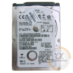 "Жесткий диск 2.5"" 320Gb Hitachi HTS543232A7A384 (8Mb/5400/SATAII) БУ"