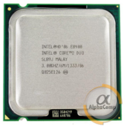 Процессор Intel Core2Duo E8400 (2×3.00GHz/6Mb/s775) б/у
