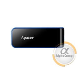 USB Flash 64Gb Apacer AH356 Black USB3.0 (AP64GAH356B-1)