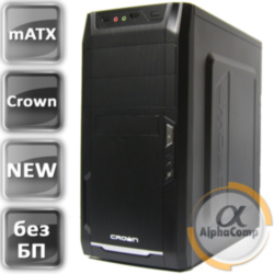 Корпус Crown mATX без БП