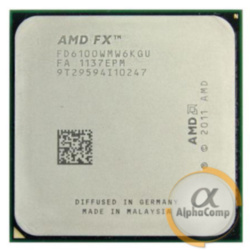Процессор AMD FX 6100 (6×3.30GHz/8Mb/AM3+) б/у