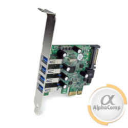 Контроллер PCIe - USB3.0 (EXT: 4×USB3.0, POWER: molex)
