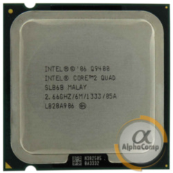 Процессор Intel Core2Quad Q9400 (4×2.66GHz/6Mb/s775) БУ