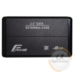 "Внешний карман HDD/SSD 2.5"" USB 2.0 Frime Metal Black (FHE20.25U20)"
