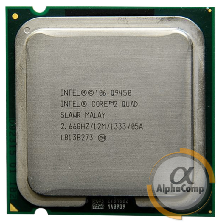 Процессор Intel Core2Quad Q9450 (4×2.66GHz • 12Mb • 775) БУ