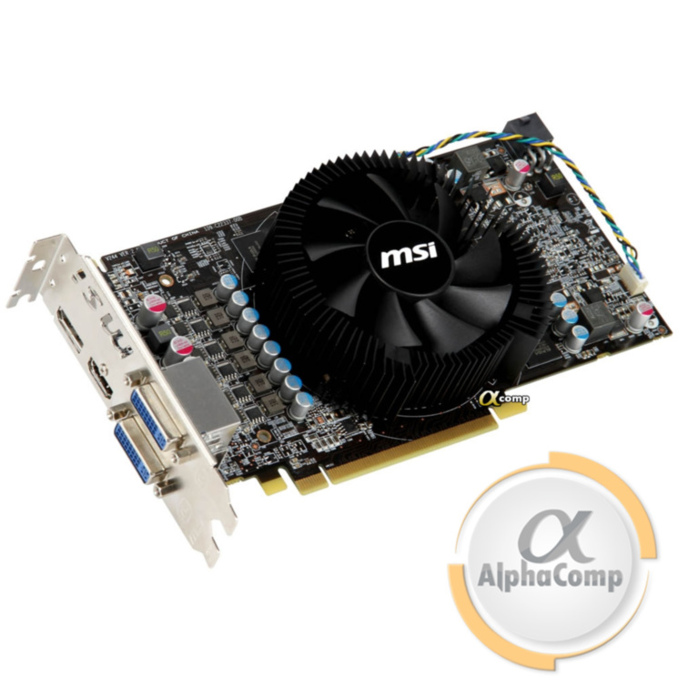 Видеокарта PCI-E ATI MSI HD6850 (1Gb/GDDR5/256bit/HDMI/DP/2xDVI) OC БУ