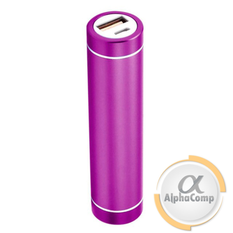 Корпус Power BANK (без АКБ, 1×18650) алюминий, purple P5PU