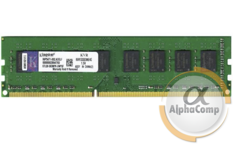Модуль памяти DDR3 4Gb Kingston (KVR1333D3N9/4G) 1333
