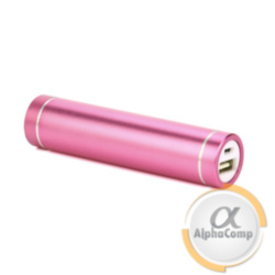 Корпус Power BANK (без АКБ, 1×18650) алюминий, pink P5YR