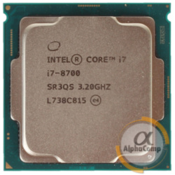 Процессор Intel Core i7 8700 (6×3.20GHz/12Mb/s1151)