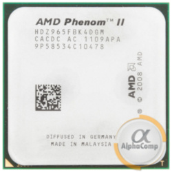 Процессор AMD Phenom II X4 965 (4×3.40GHz/6Mb/AM3) Black Edition 125W б/у