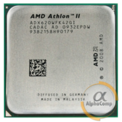 Процессор AMD Athlon II X4 620 (4×2.60GHz/2Mb/AM3) б/у