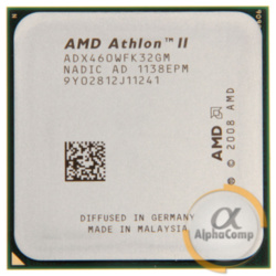 Процессор AMD Athlon II X3 460 (3×3.40GHz/1.5Mb/AM3) б/у
