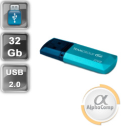USB Flash 32Gb Team C153 USB2.0 TC15332GL01 Blue