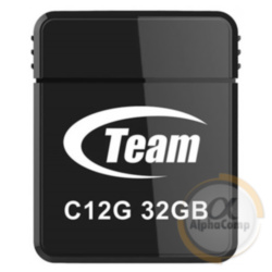 USB Flash 32Gb Team C12G USB2.0 (TC12G32GB01) black