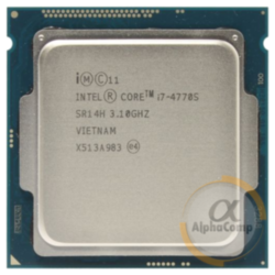 Процессор Intel Core i7 4770S (4×3.10GHz/8Mb/s1150) БУ