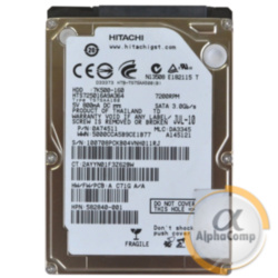 "Жесткий диск 2.5"" 160Gb Hitachi HTS725016A9A364 (16Mb/7200/SATAII) БУ"