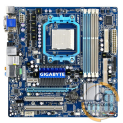 Материнская плата Gigabyte GA-MA78LMT-US2H (AM3/AMD 760G/4×DDR3) БУ